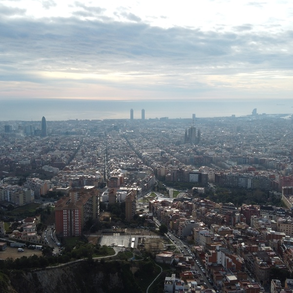 City views Barcelona