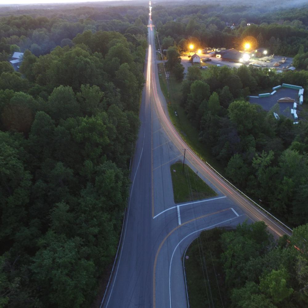 Evening Low Light Traffic