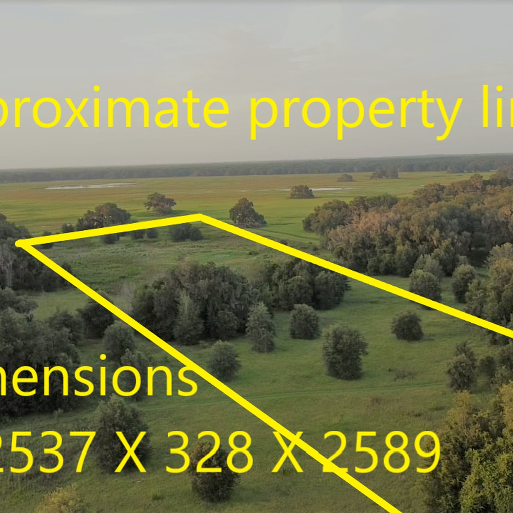 Vacant Land with Property Lines