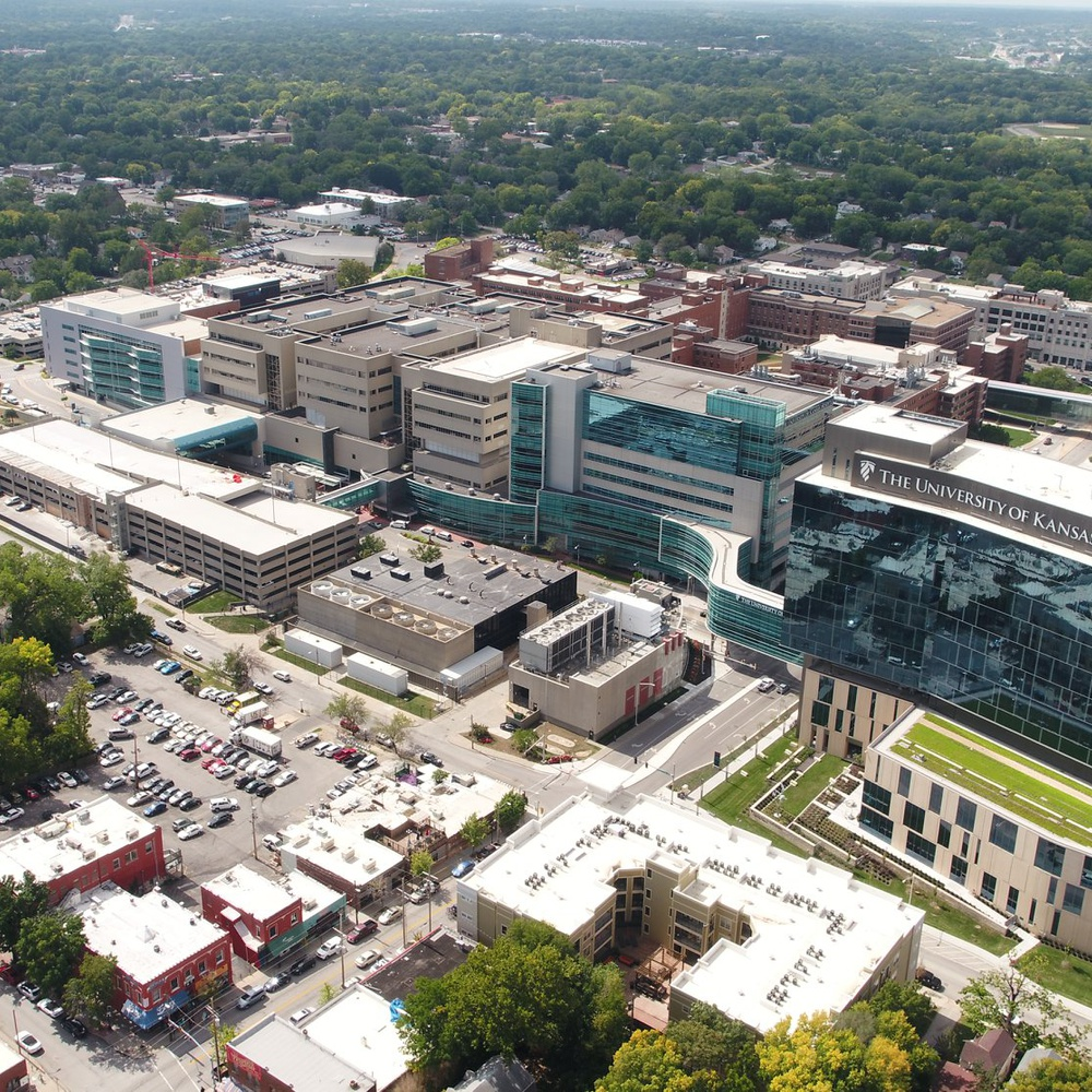 Exclusive Aerial Photo+Video provider for University Of Kansas Medical Center