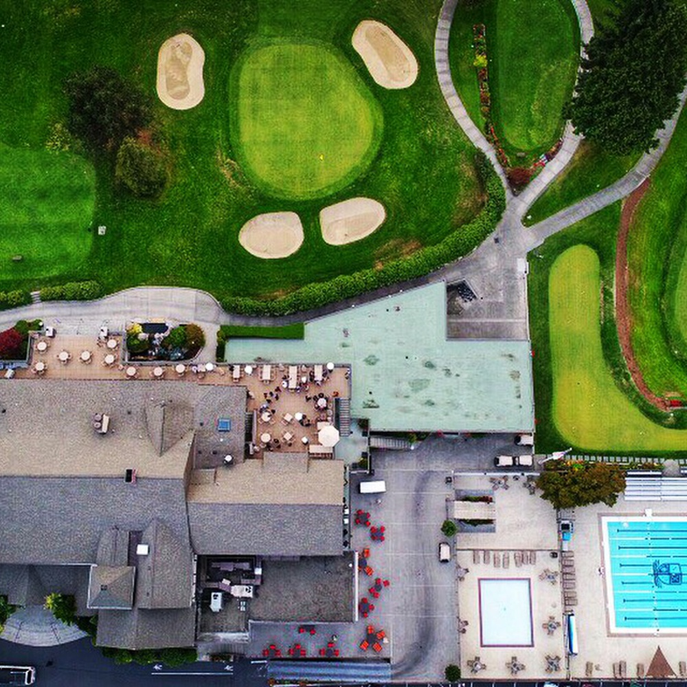 Nadir golf course in Seattle