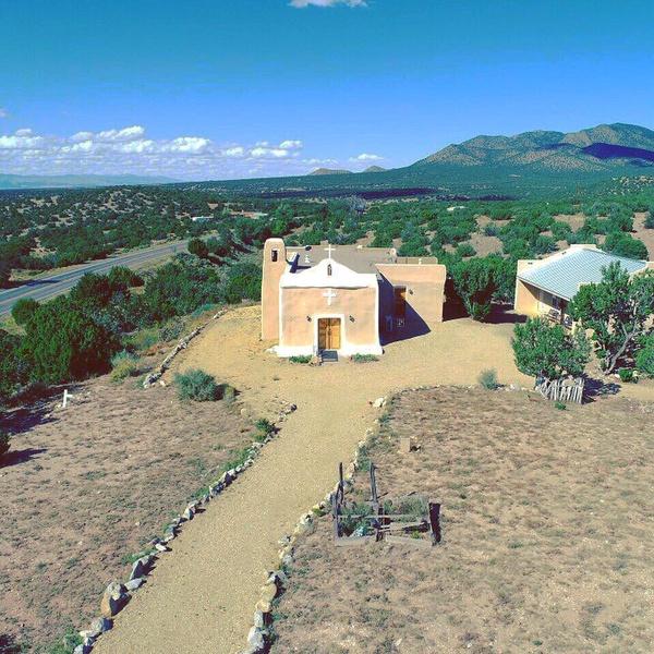 San Francisco de Asis Catholic Church Golden New Mexico