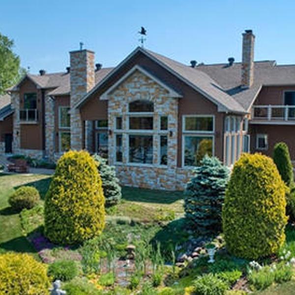 Custom home in Madawaska, Maine