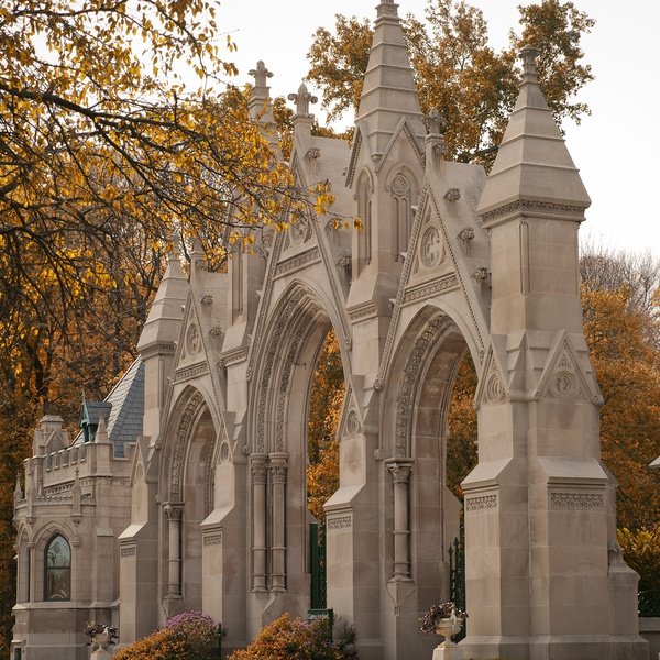 Real Estate Photography Indianapolis, Indiana.  Crown Hill Cemetery