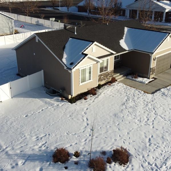 Snowy Home, North Angle