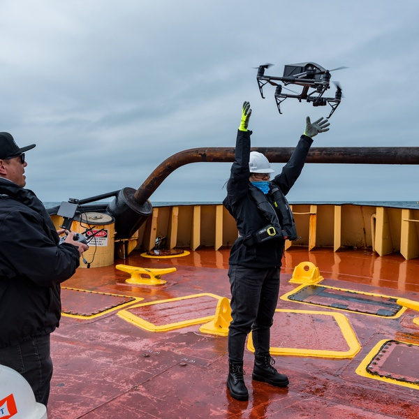 Offshore Aerial Cinematography