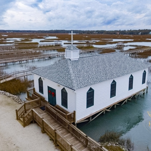 Chapel on the creek!