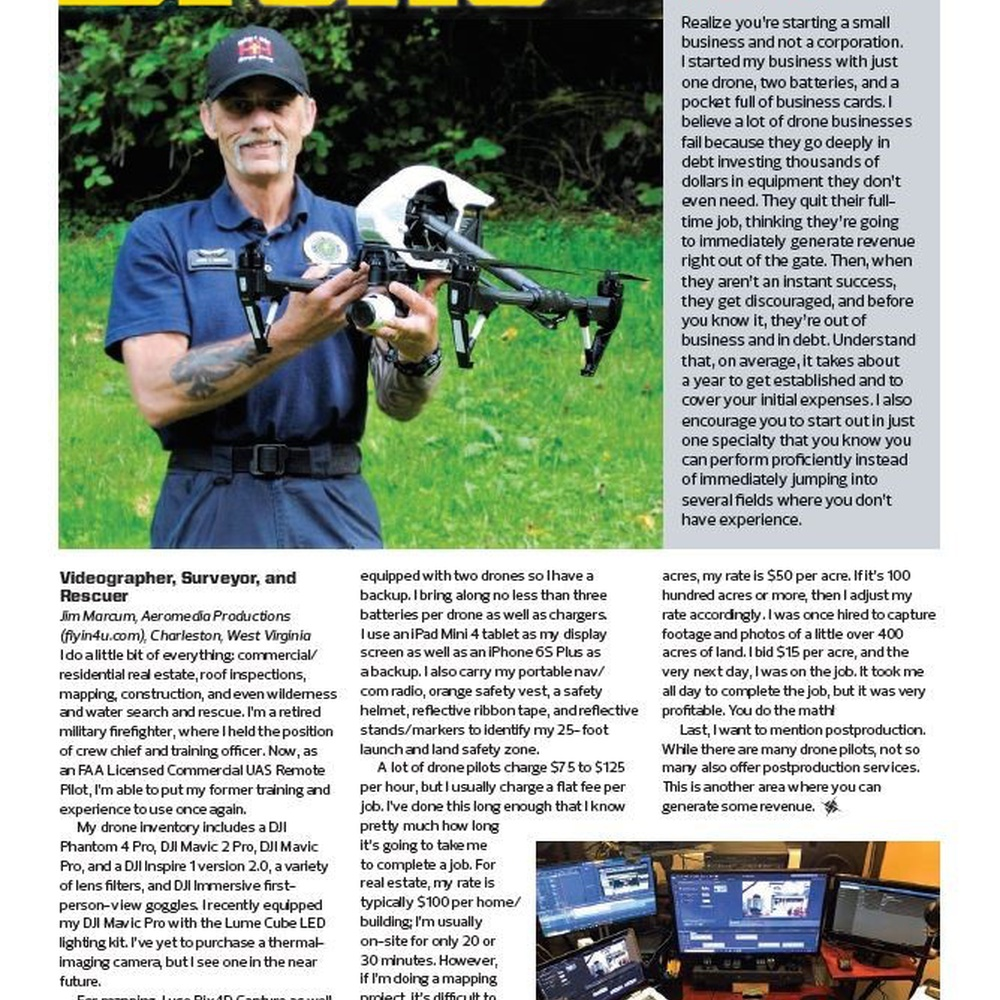 Feature in Rotor Drone Magazine