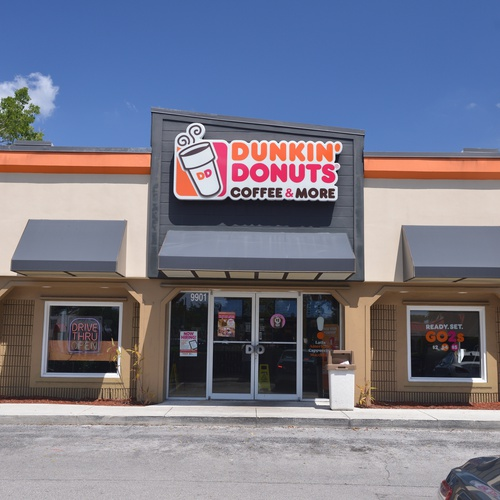 Dunkin Donuts (Ground Photo Sample)