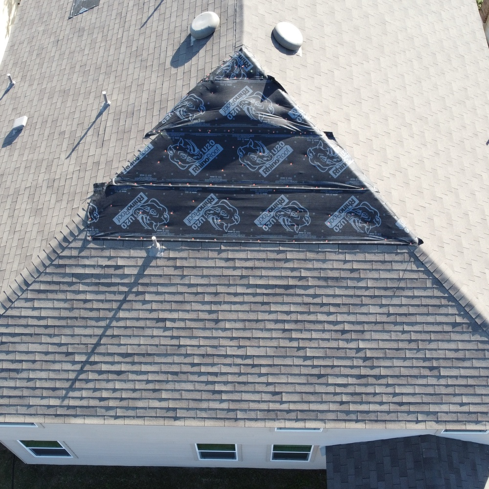 Wind Damaged Roof Inspection