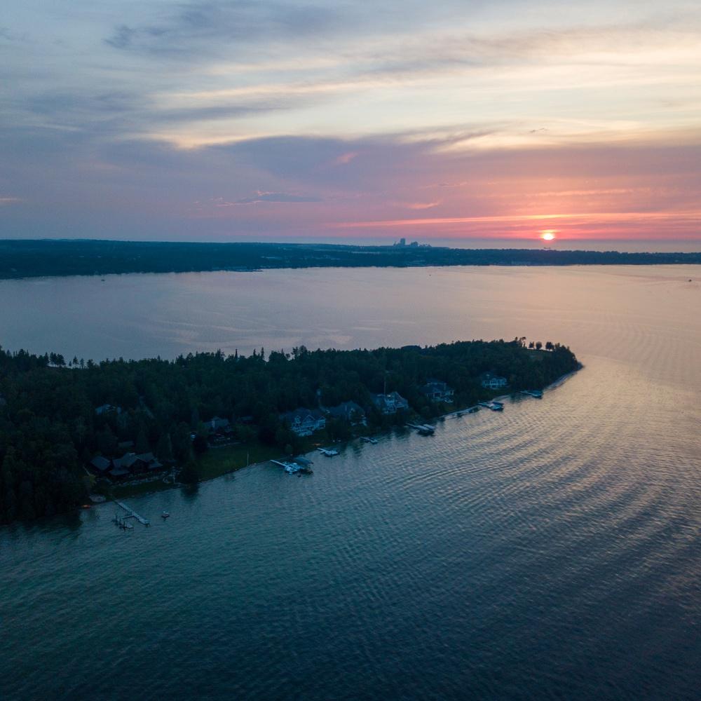 Lake Charlevoix Sunset