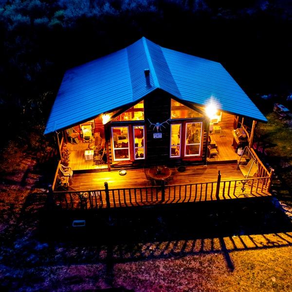 Ranch at Night