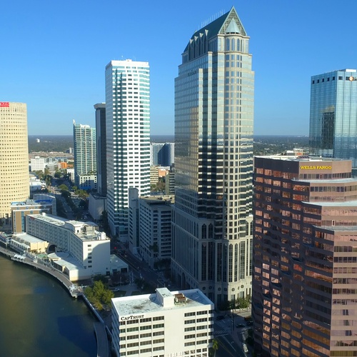 Areiel Photo of Downtown Tampa