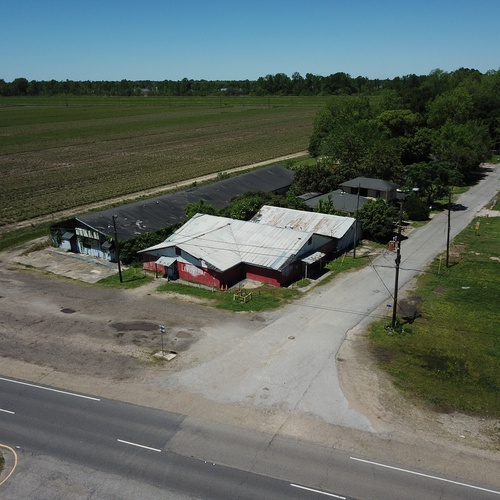 Shuttered Bar on HWY 190, West Baton Rouge Parish