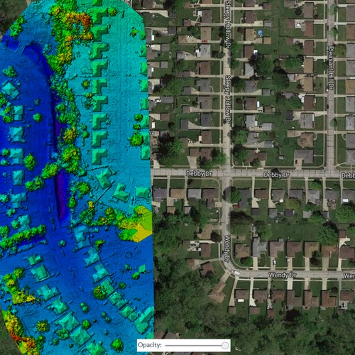 AVTD Digital Terrain and Surface Model Reporting
