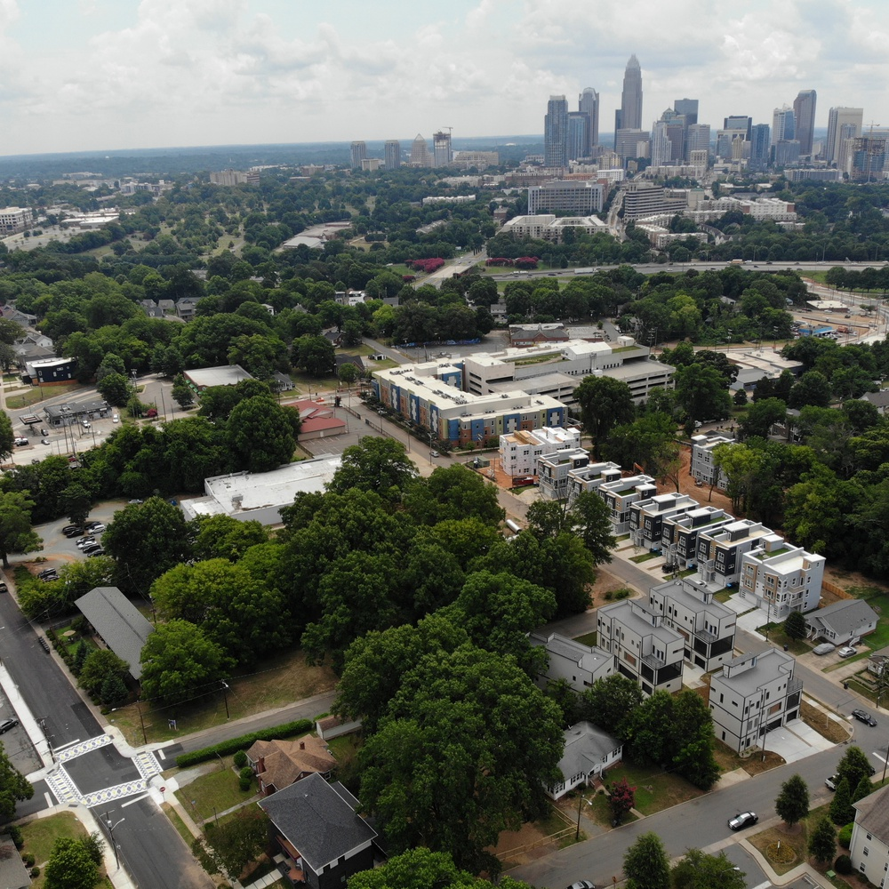 Charlotte:  Crosswalks/Skyline