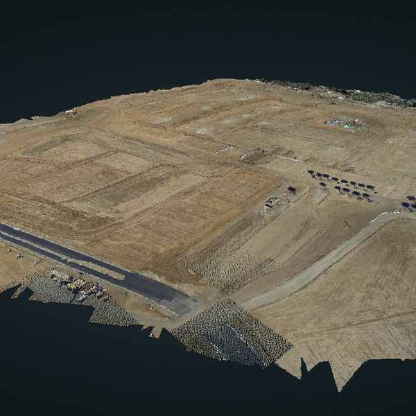 Aerial Mapping for Large Construction Sites