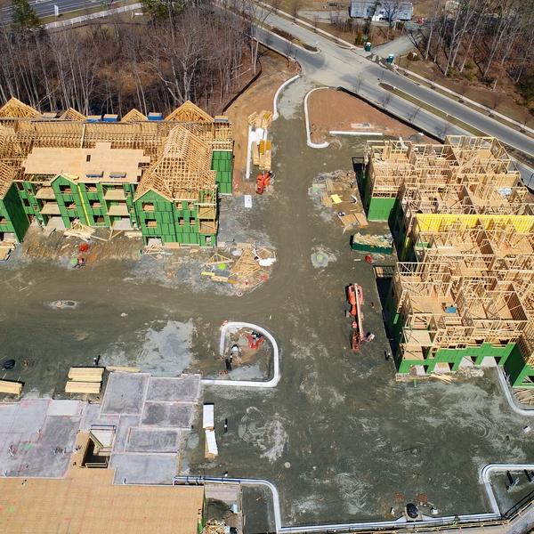 Construction Progress - Apartment Building