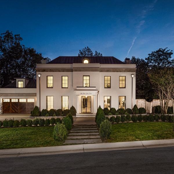 Luxury Home Twilight Photo