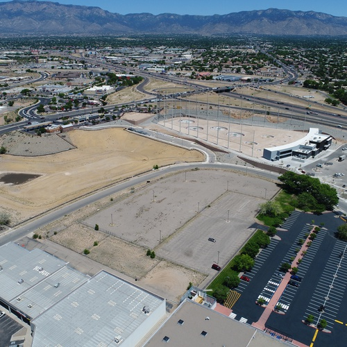 Commercial Vacant land shoot near the new Top Golf in Albuquerque, NM