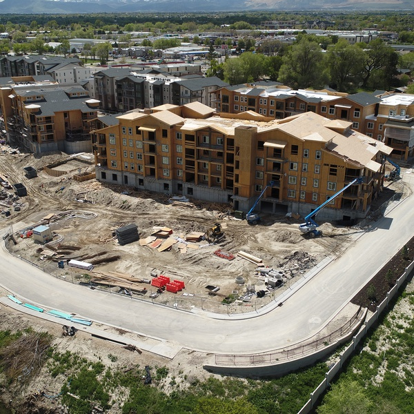 Aerial Perspective - Architecture - Construction