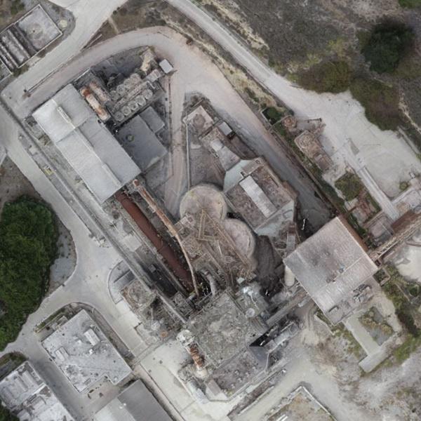 Industrial Plant 2D Model
