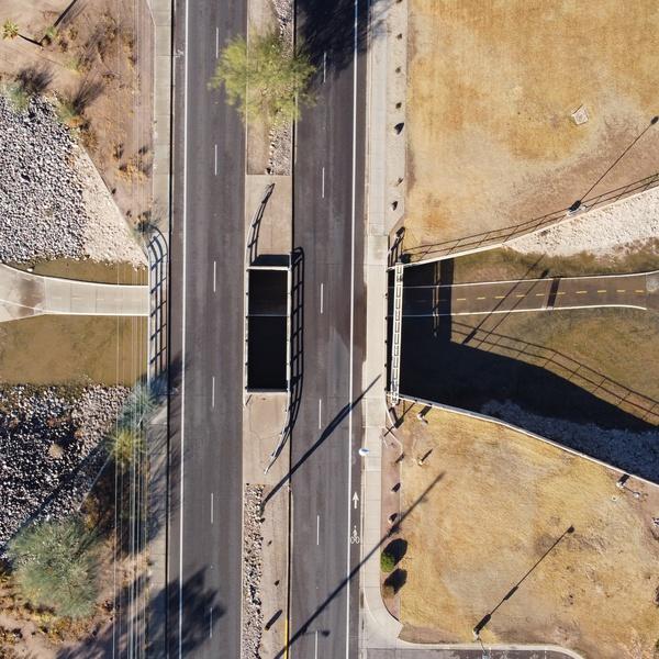E McKellip overpass