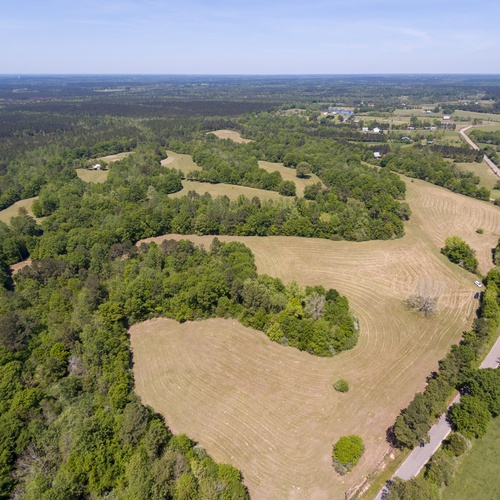 Aerial - Acreage without lot lines