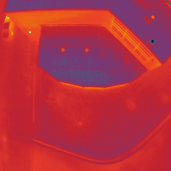 Thermal Analysis for Leaking Roof