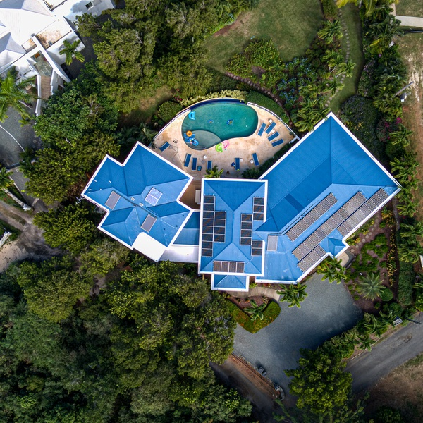 Real Estate Aerial Property Photo