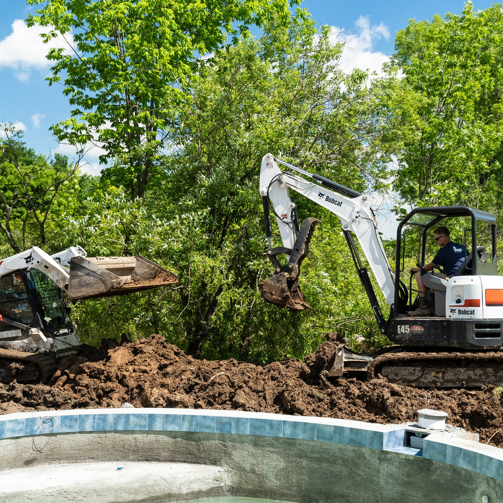 DSLR Ground Photography - Construction Progress Shots