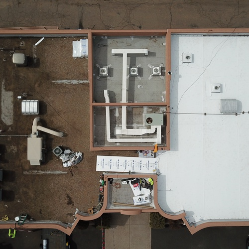 Roofing project and inspection in Albuquerque, NM
