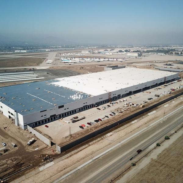 Progress shot of Warehouse build