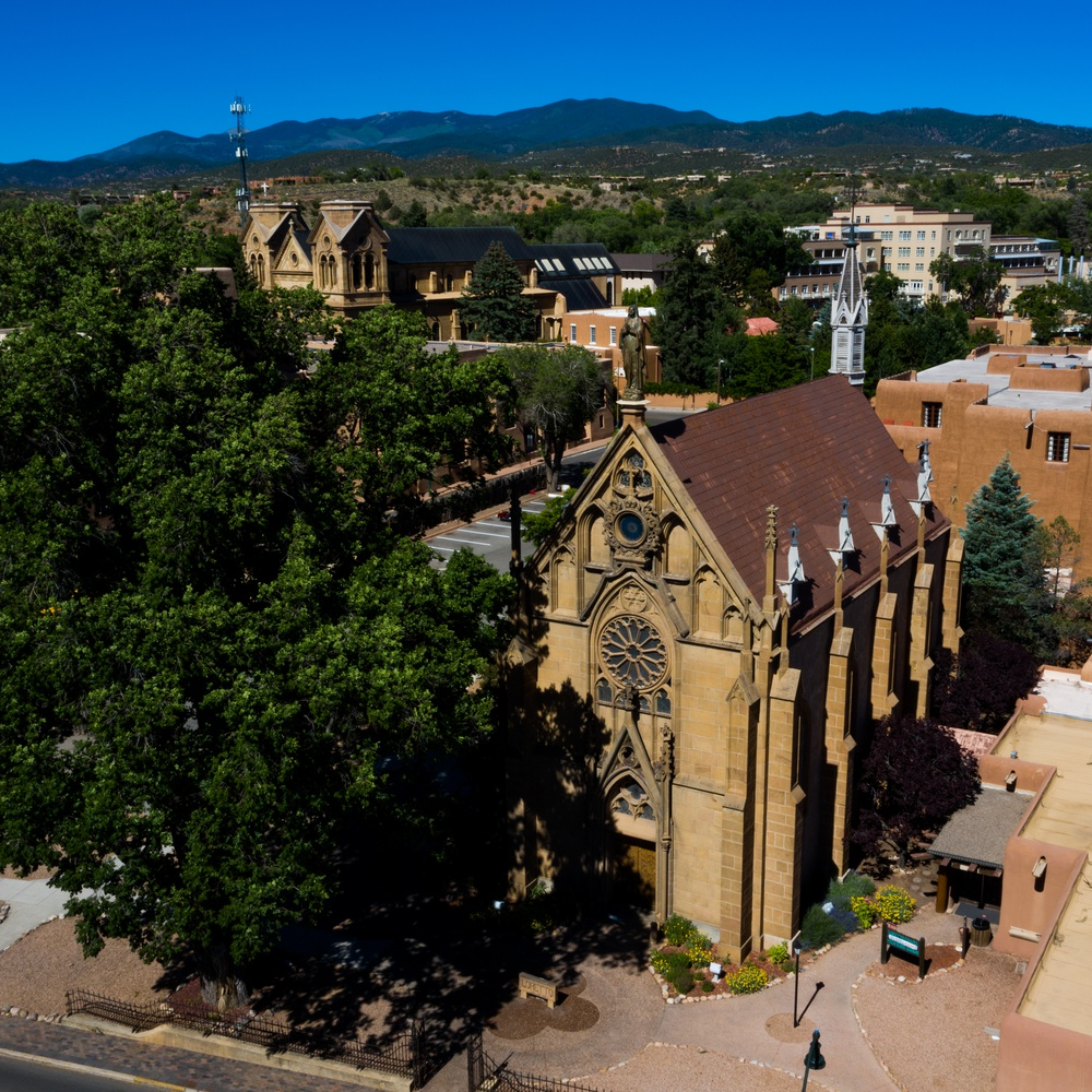 The Loretto Chapel in Santa Fe
