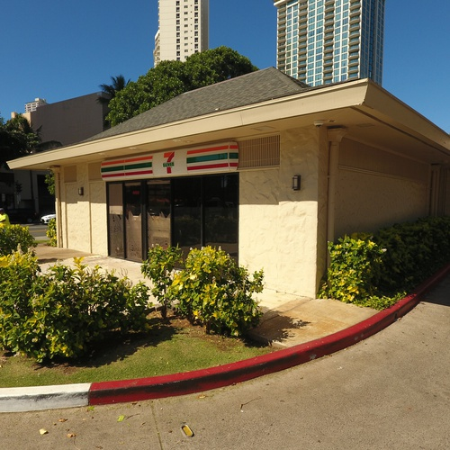 Honolulu Commercial Real Estate -Front (Street Level)