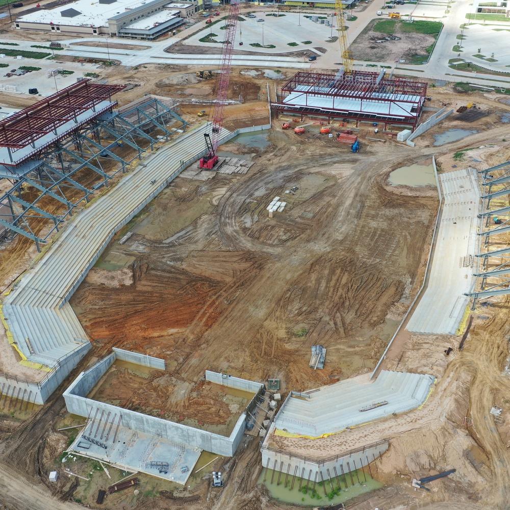 Football Stadium Construction Progress