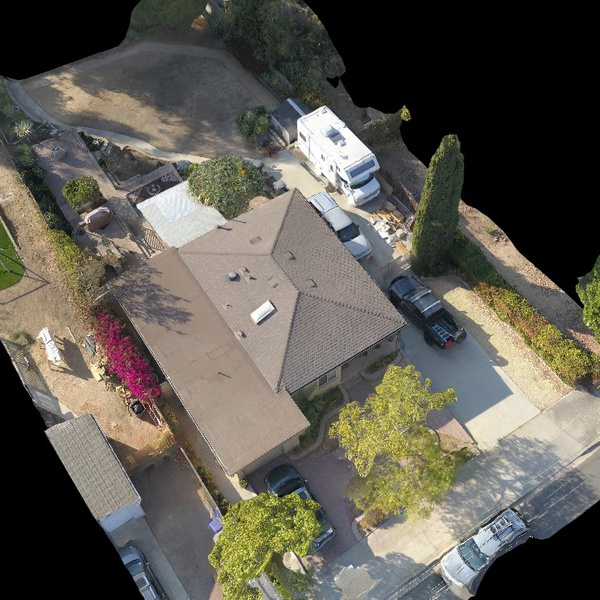 Roof Solar Survey using Drone Deploy to generate 3D model