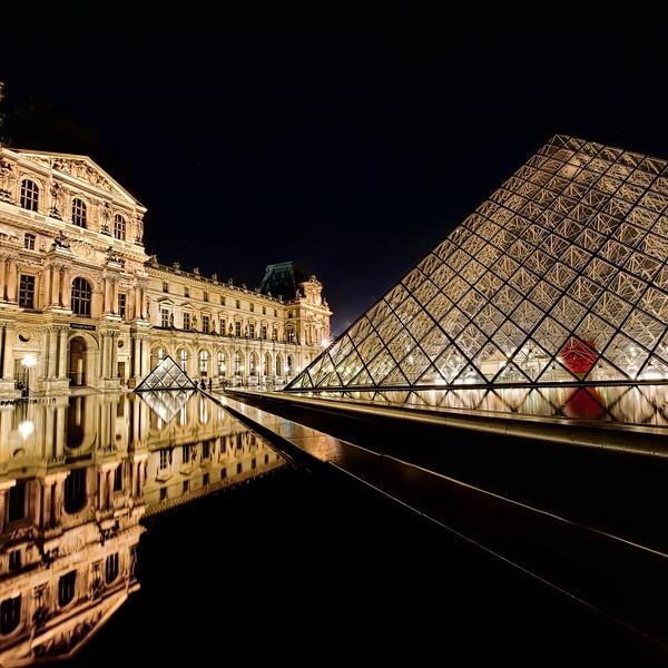 Real Estate Photography Paris, France.  The Louve
