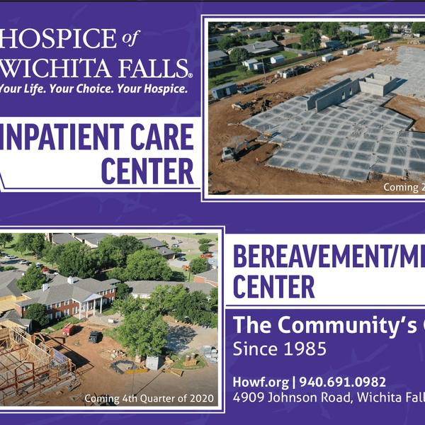 Hospice of Wichita Falls - Aerial Construction Sample