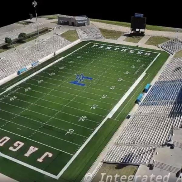 High School Stadium 3d Model (2)