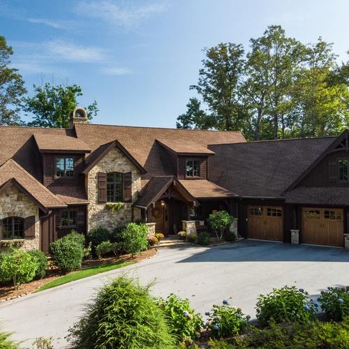 Whitewater Ridge House - Front Elevation