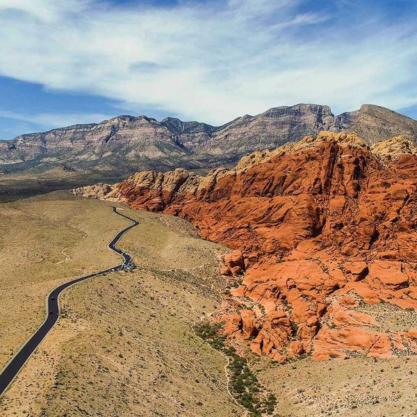 Beautiful Red Rock Canyon in Las Vegas