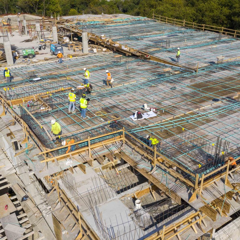 Construction site, 1515 South Lamar Ave., Austin, TX