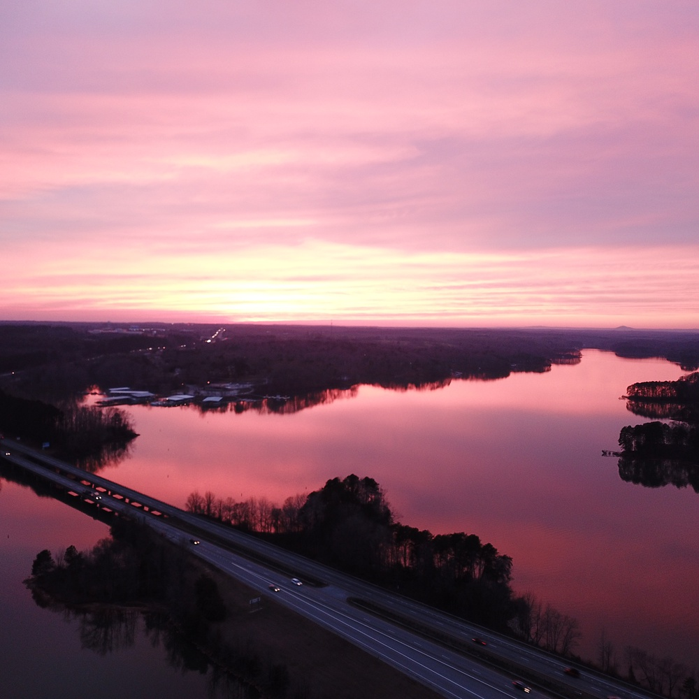 Sunset Over Lake Hartwell
