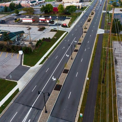 US 42 - Medina, OH Median