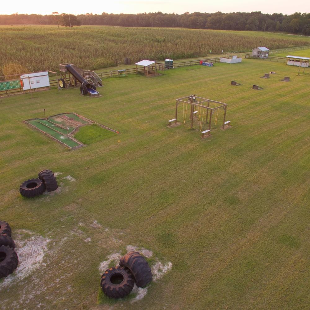 Florida Playground and Corn Maze Afternoon