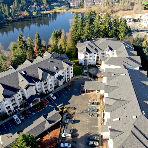 Commercial/Multifamily Reroof - Newcastle, WA