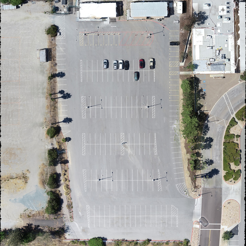 Parking Lot Orthomosaic