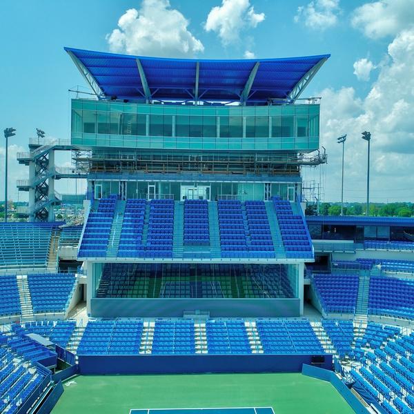 Lindner Tennis Center Construction 2018 After (Completed July 2018)
