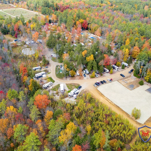 Aerial Photography of a local campground